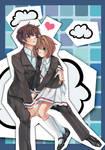 Cardcaptor Sakura - Syaoran and Sakura
