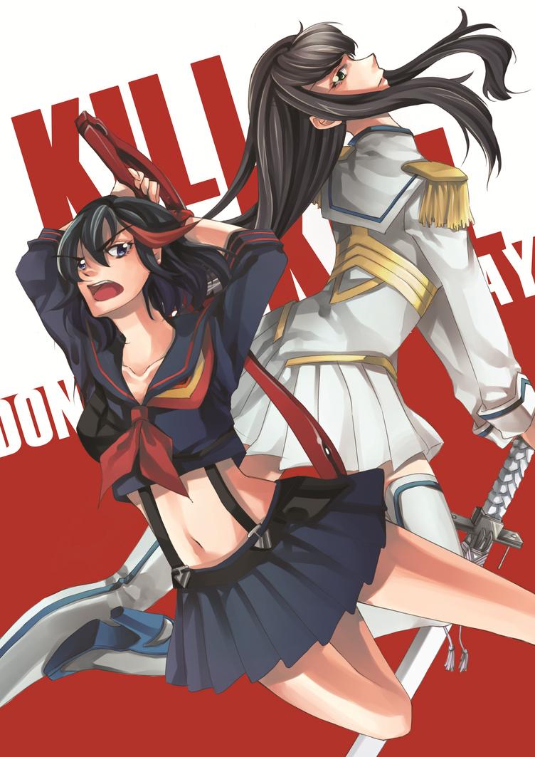 kill la kill satsuki x ryuko