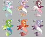 50pt Mermaid Sprite Adopts open by HaruShadows