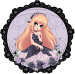 Lavender Lolita by HaruShadows
