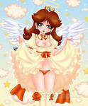Angelic Daisy by HaruShadows