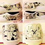 Soul Eater Manga Shoes (Handmade)