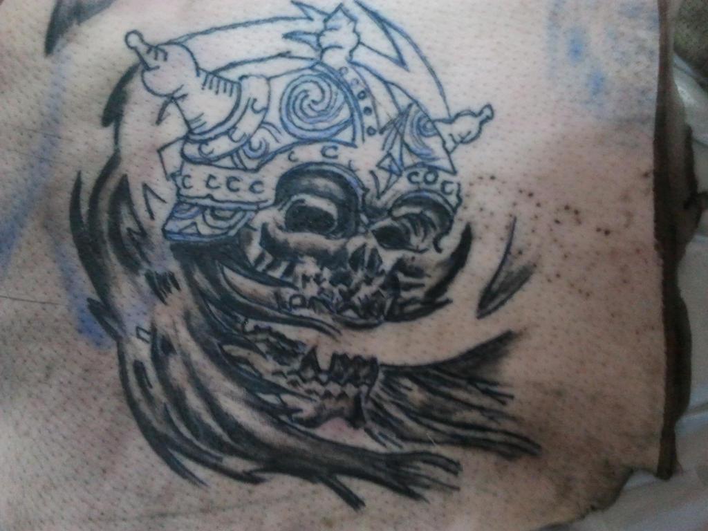 today 2 hour tattoo pratice on the pig skin by tommyyu on deviantart. Black Bedroom Furniture Sets. Home Design Ideas