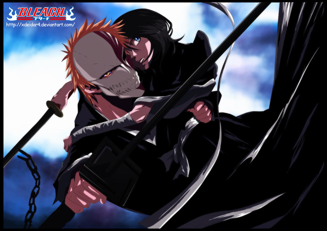 Bleach | Ichigo and Rukia by xDeidar4
