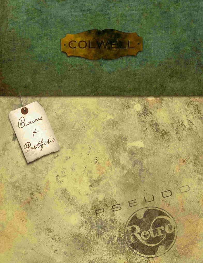 Portfolio cover