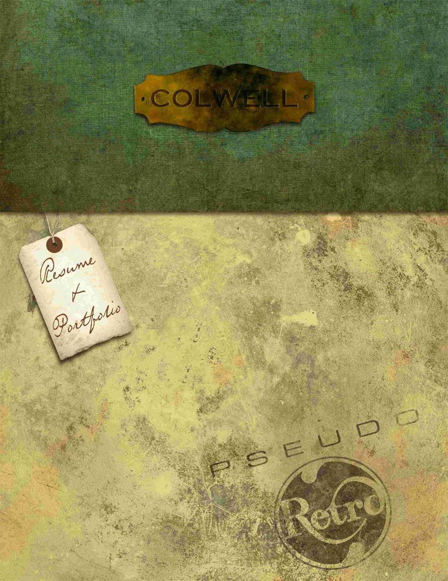 Portfolio cover by Macbaby