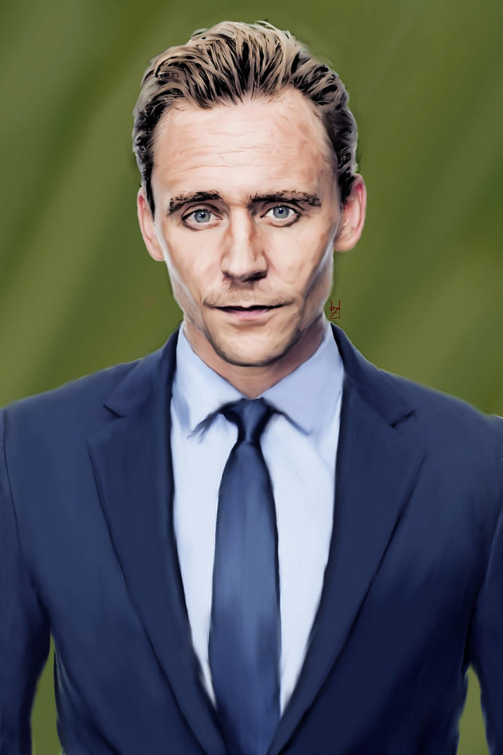 Tom Hiddleston by DiademOfRavens