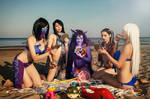 Cosplay League of Legends - Pool Party