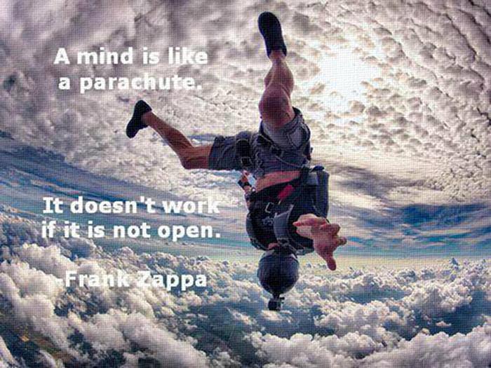 Parachute your mind