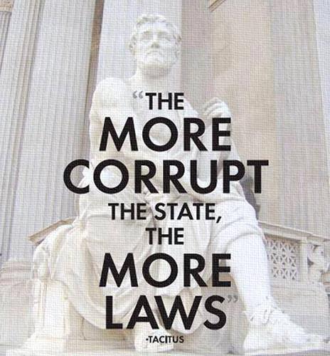 Corruption and laws by uki--uki