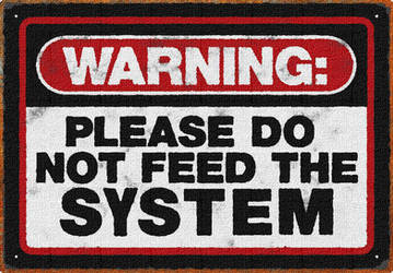 Do not feed it by uki--uki