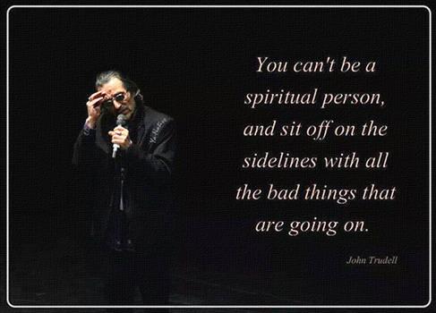 Spiritual person