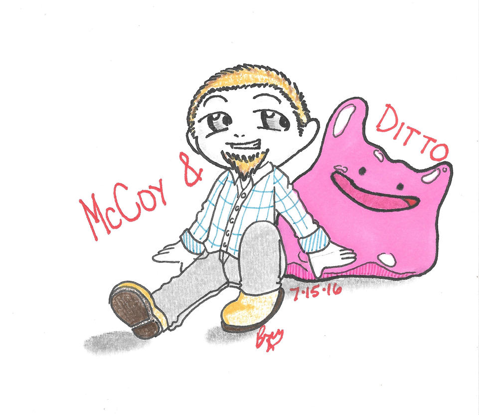 McCoy and Ditto by DarkWaterz
