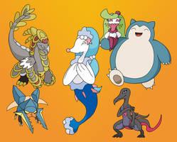 Pokemon Sun Team by GaiaNex