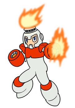 DLN-007: Fire Man