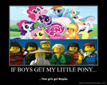 If boys get My Little Pony...