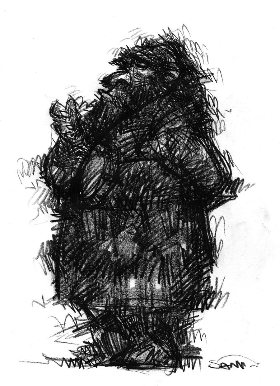Energetic sketch by nicolasammarco