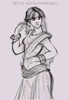 Princess Auda - concept :) by nicolasammarco
