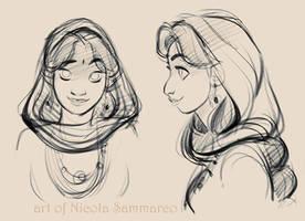 Princess Auda! :) by nicolasammarco