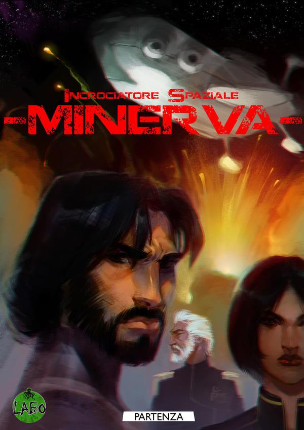 Cover - Incrociatore Spaziale Minerva by nicolasammarco