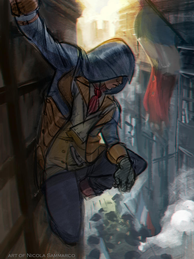 Assassin's creed Unity by nicolasammarco