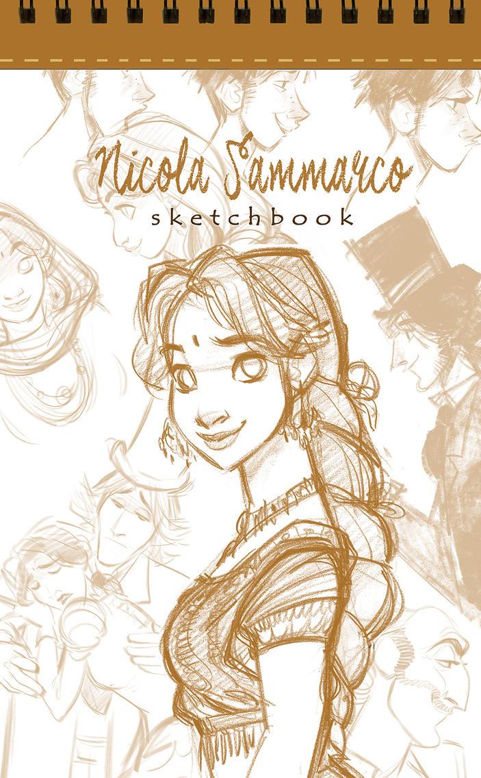 Pre-order Sketchbook! by nicolasammarco