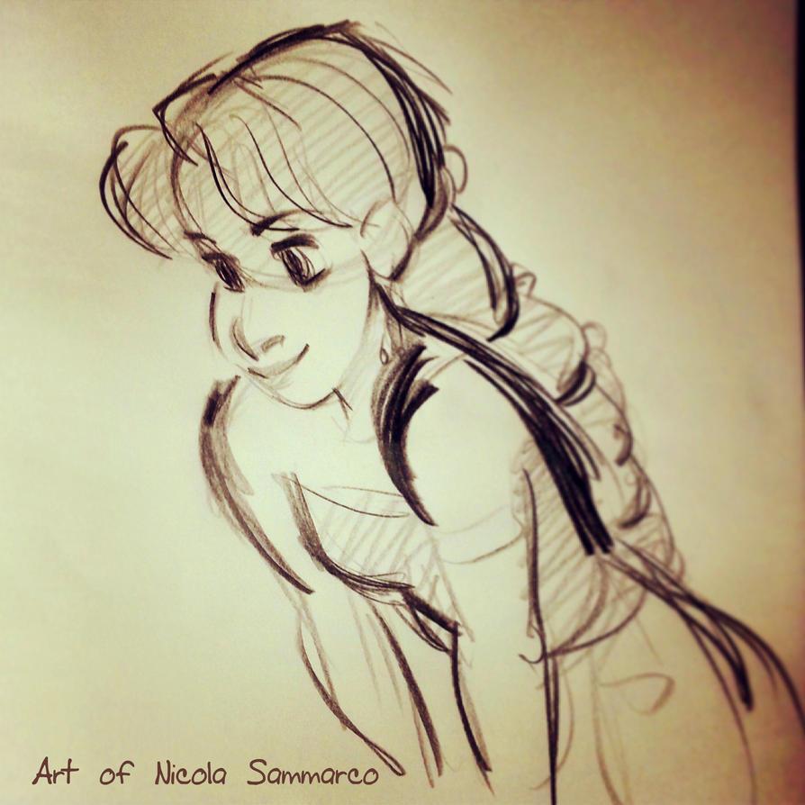 Auda sketch :3 by nicolasammarco