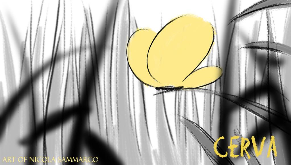 Inktober - CERVA (from my new portfolio) by nicolasammarco
