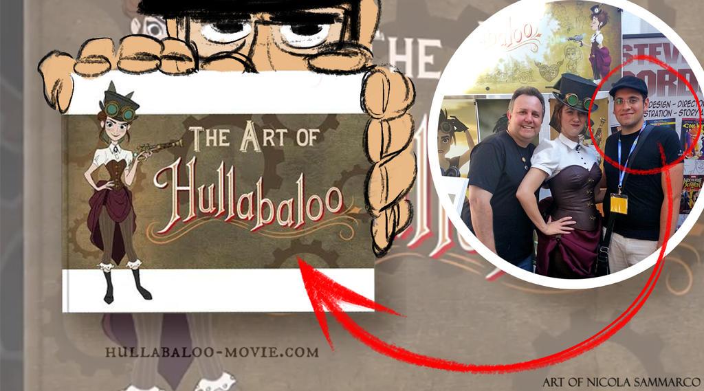 Art of Hullabaloo!! by nicolasammarco