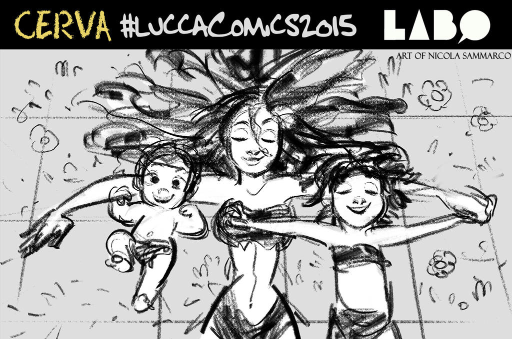 LuccaComics2015 by nicolasammarco