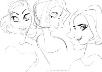 Sketches by nicolasammarco