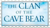Clan of the Cave Bear stamp by Malamutts