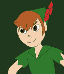 Peter Pan by gamingcraftergirl28