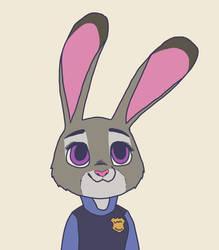 Judy Hopps by gamingcraftergirl28