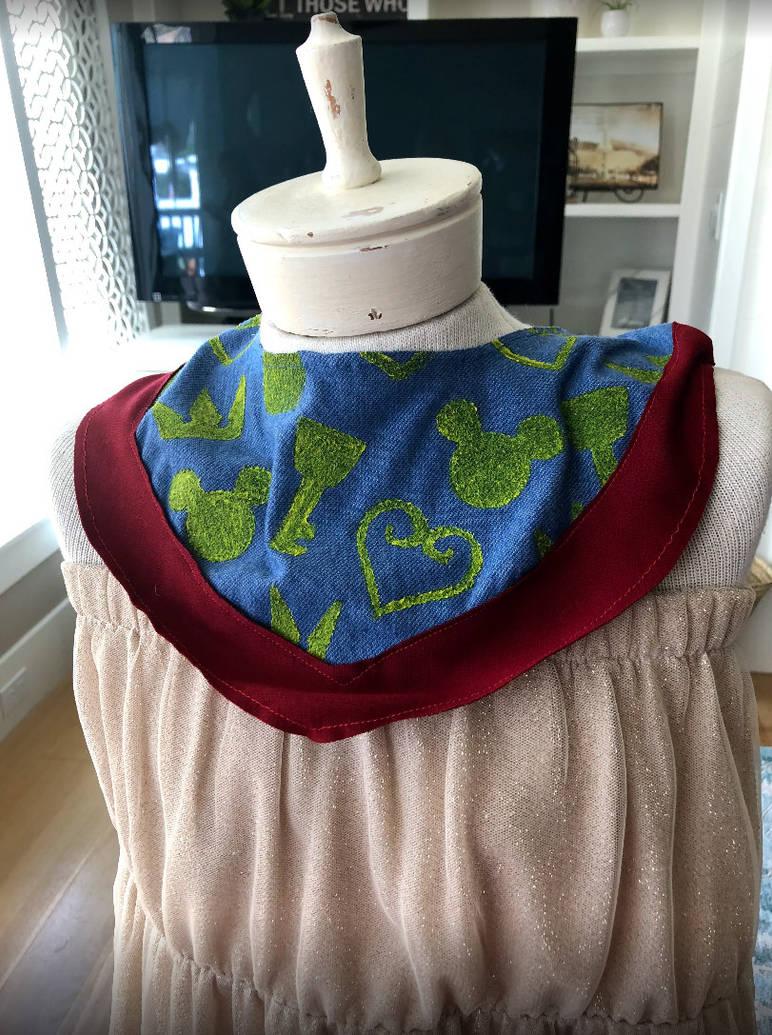 Kingdom Hearts Handkerchief scarf by gamingcraftergirl28