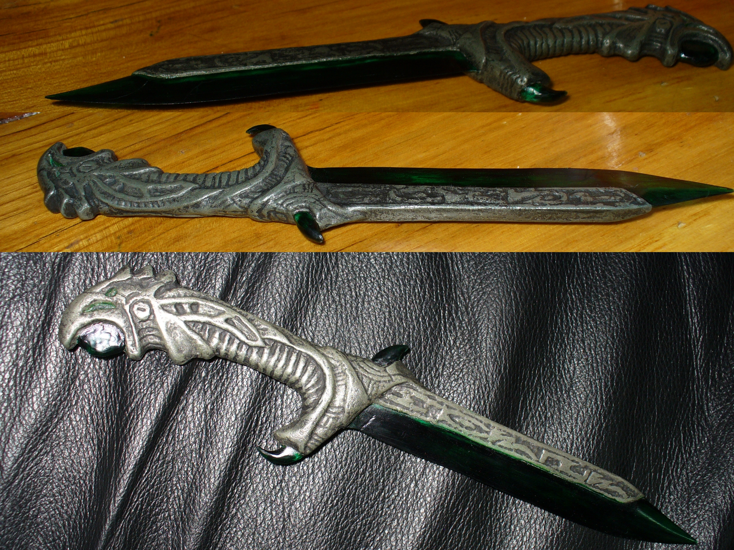 REAL Morrowind Glass Throwing Knife By Chief-01 On DeviantArt