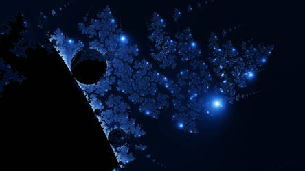 Mandelbrot's Falling Christmas Tree