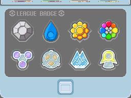Indigo League Badges WIP