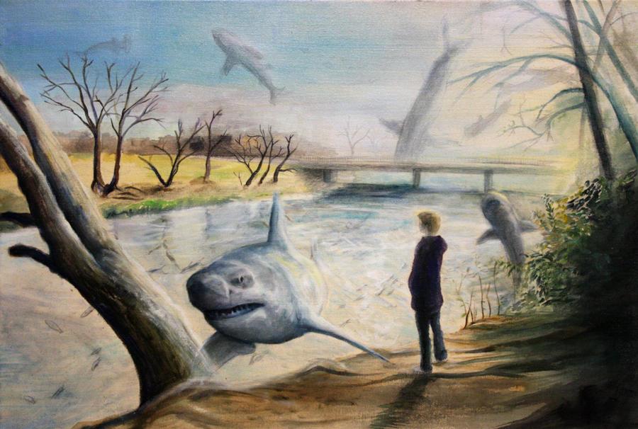 Sky Sharks by aubrey9001