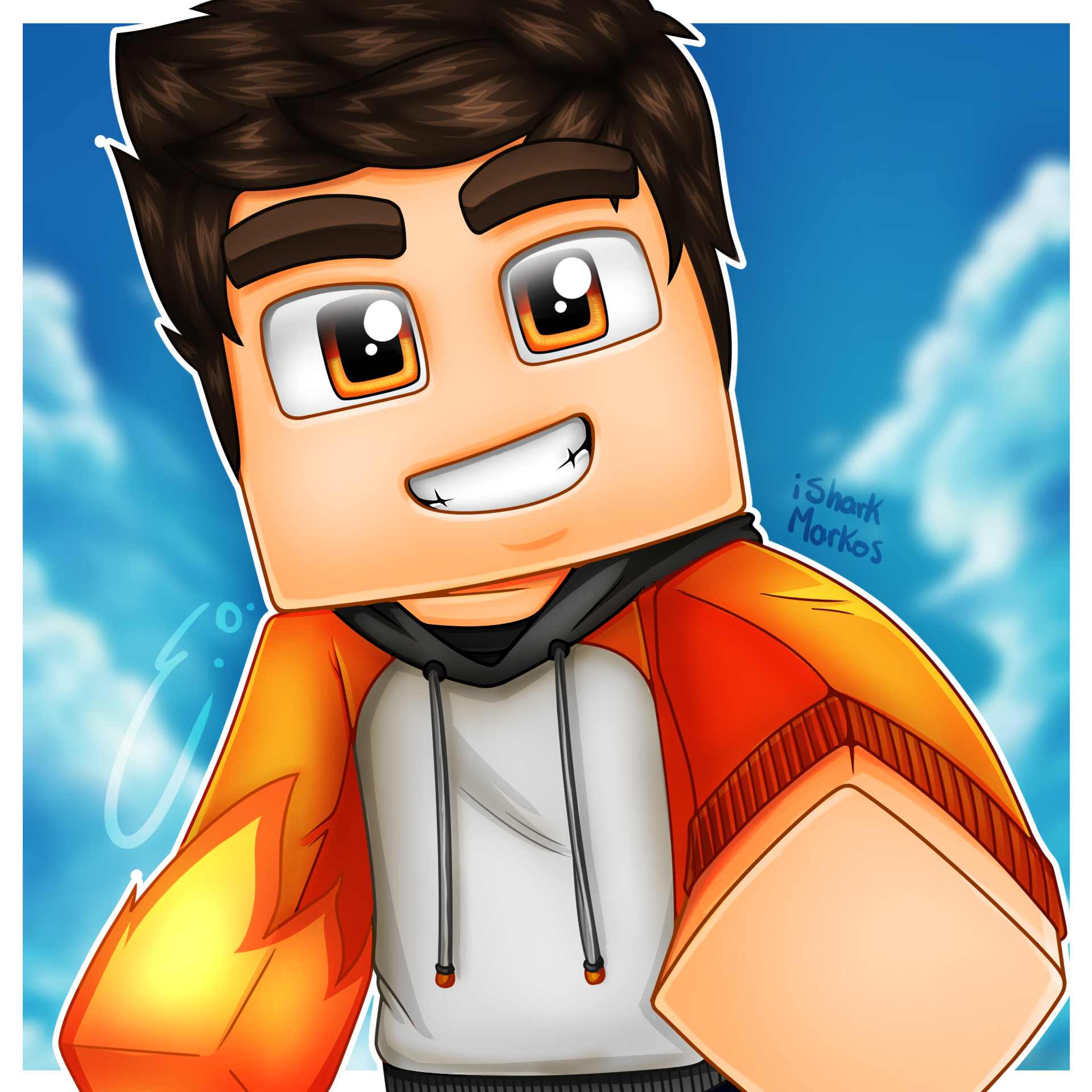 Minecraft Icon Isharkmarkos By Eonofre12 On Deviantart