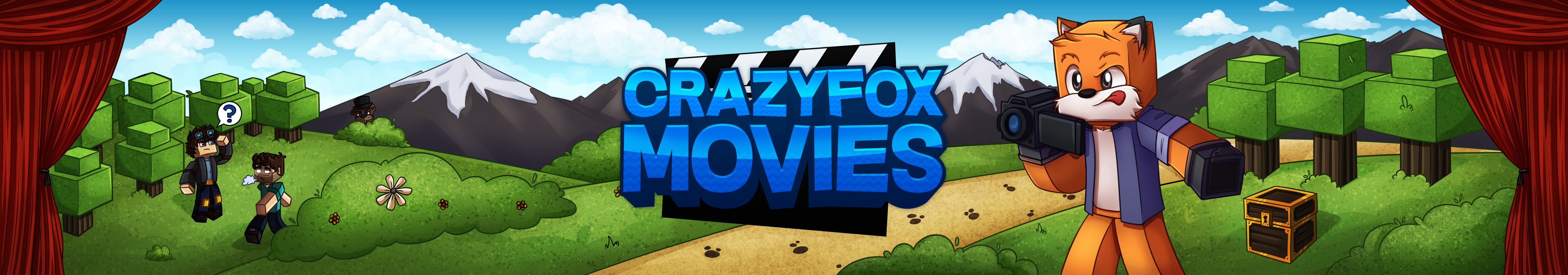 Minecraft Banner Crazyfoxmovies By Eonofre12 On Deviantart