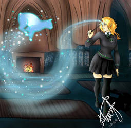 Me in Hogwarts by Ty-Snow