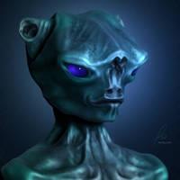 Portrait of an Alien
