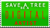 Green Artist Stamp by Jet-Plasma