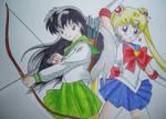 -Kagome Sailor moon-