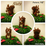 Nuts, le petit Ecureuil by Crocsbetty