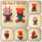 Flip Flop and Flip Flap by Crocsbetty