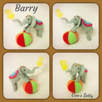 Barry the Elephant by Crocsbetty
