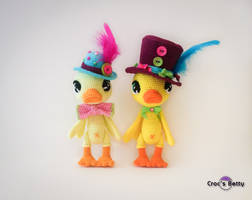 Ducky and Ducky by Crocsbetty