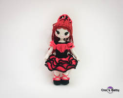 Fanny and her Flamenco outfit by Crocsbetty